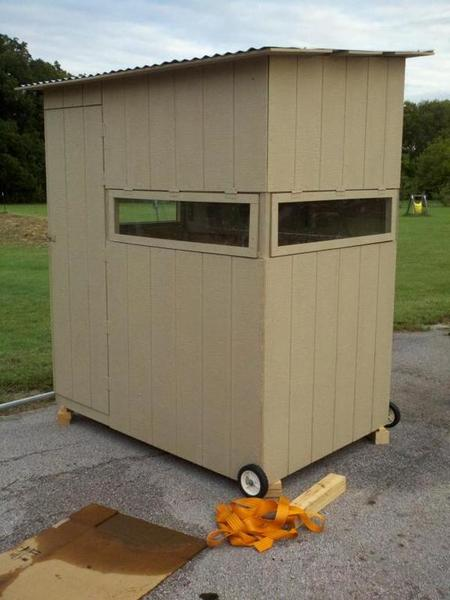 Diy Deer Blind Plans Post What You Have Blinds