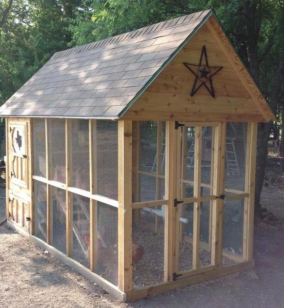 fancy chicken coop diy texas hunting forum