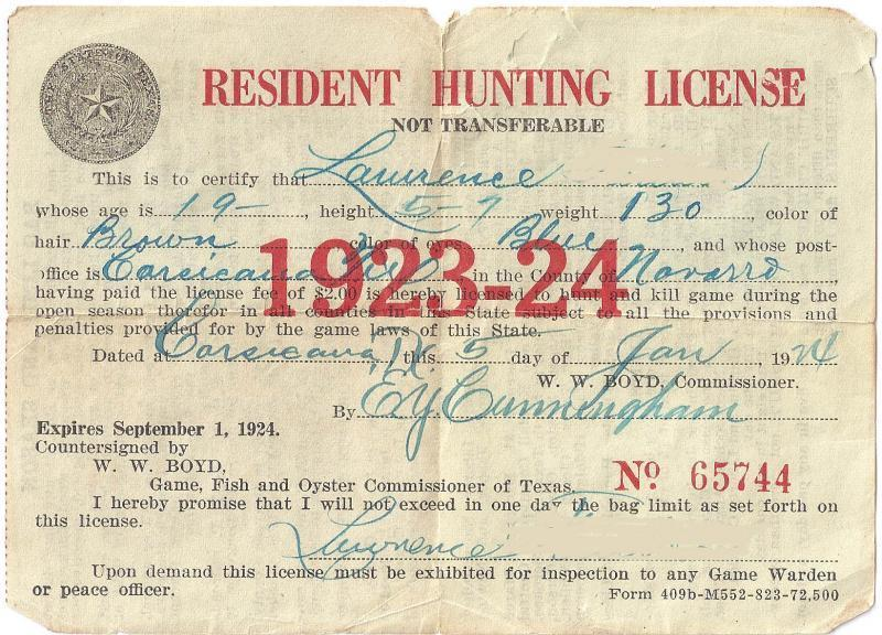 Pro hunting much does hunting license texas cost for Texas non resident fishing license cost
