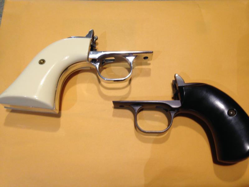Ruger Birdshead Grip Frame and Panels and Polished XRN3 Grip Frame