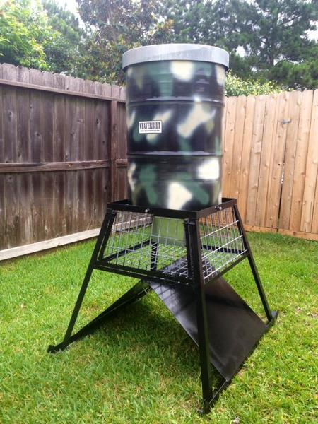 My Take On A Ground Fill Feeder Photos Texas Hunting Forum