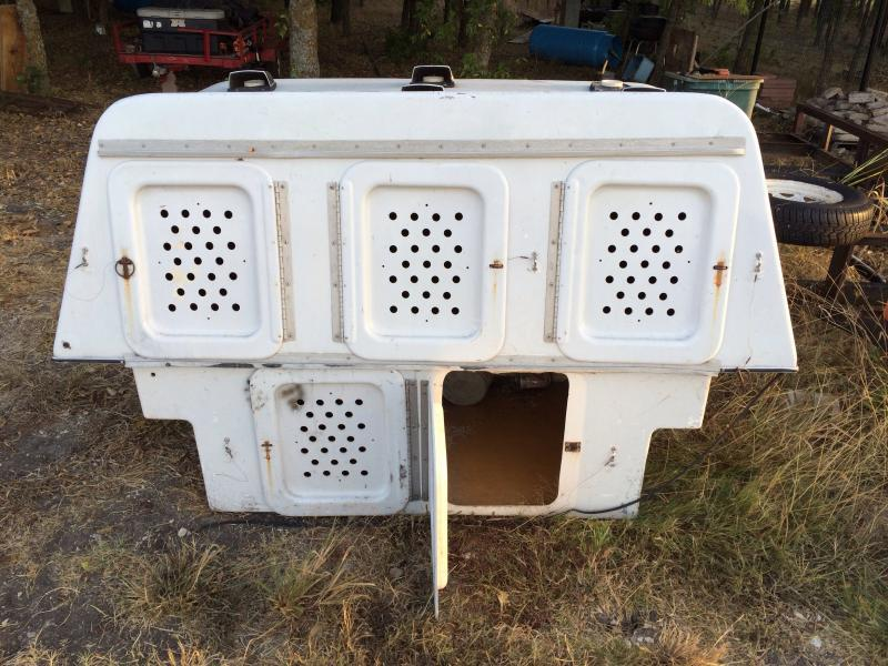 I ran across this and donu0027t need it. It needs some repair but doesnu0027t look too difficult. $150. Located in Benbrook. Price reduced. : fiberlite dog box - Aboutintivar.Com