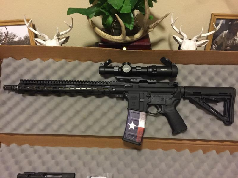 My first AR 15 build - Texas Hunting Forum