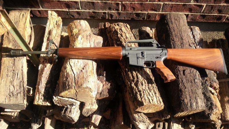 Ar15 A2 Rifle Complete Wood Furniture Set Trading Post
