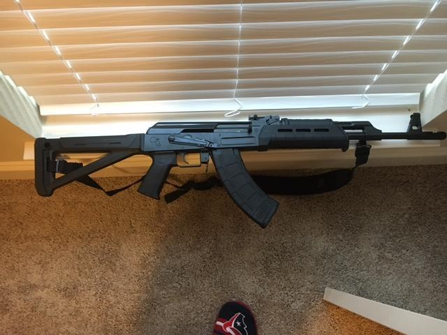 AK-47 for sale - Milled receiver with magpul furniture
