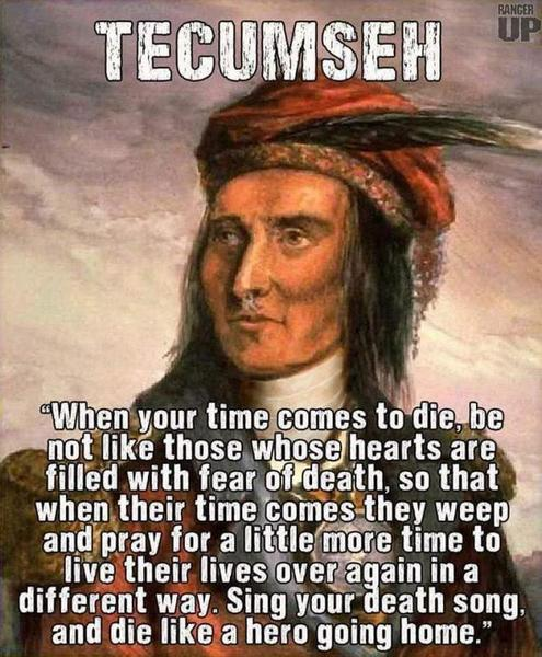 an introduction to the life of tecumseh There is one absolutely right way and one absolutely wrong way to make an email introduction  life and believe you'll  personal branding blog – stand out in.