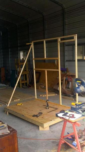 Does anyone have some plans for a 4x6 deer stand?? - Texas