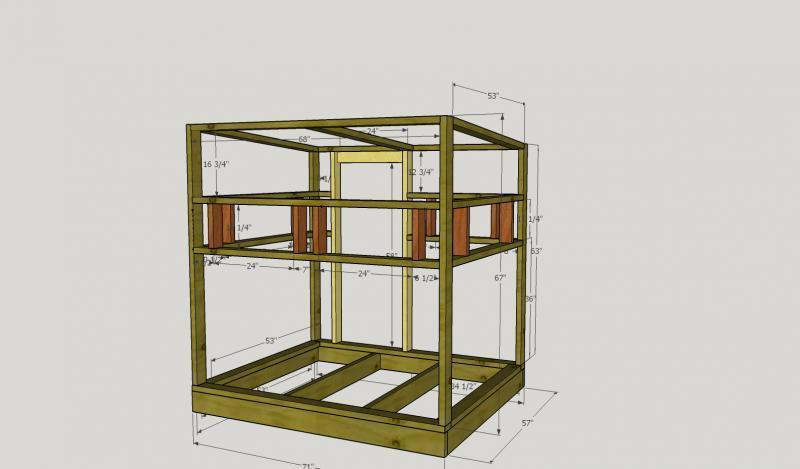 4x8 Deer Blind Plans Pictures To Pin On Pinterest Pinsdaddy