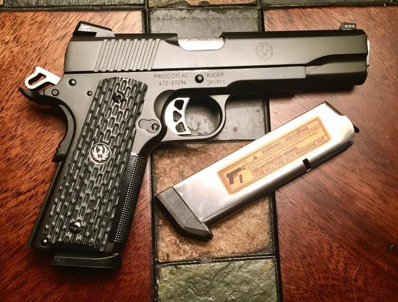 SPF! Two Great Ruger SR1911's, a Commander and the Talo