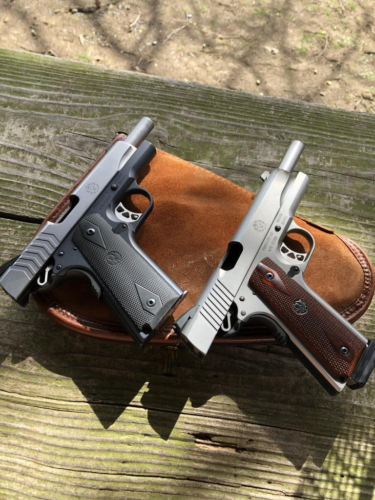 SR1911 9mm vs 45 - Texas Hunting Forum