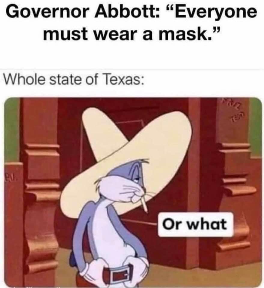 texas mask order - photo #38