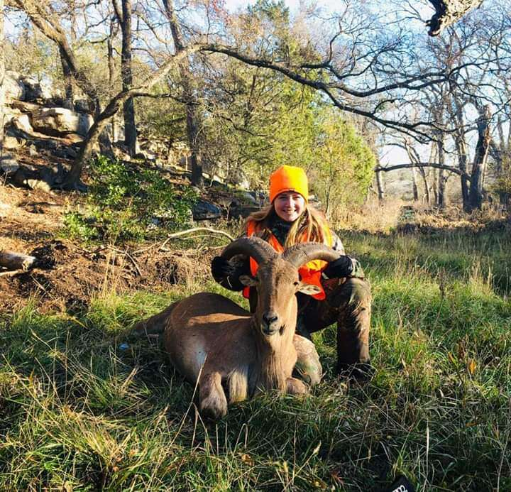 Colorado Bend State Park Youth Hunt Aoudad
